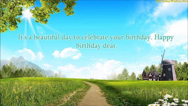 beautiful birthday wishes