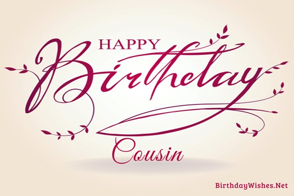 Birthday wishes for cousin and greeting cards birthday wishes for cousin m4hsunfo